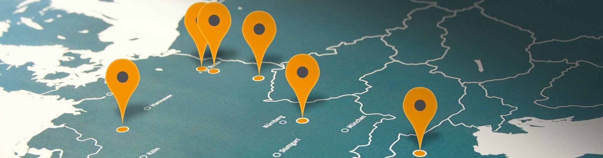 Standorte und Niederlassungen
