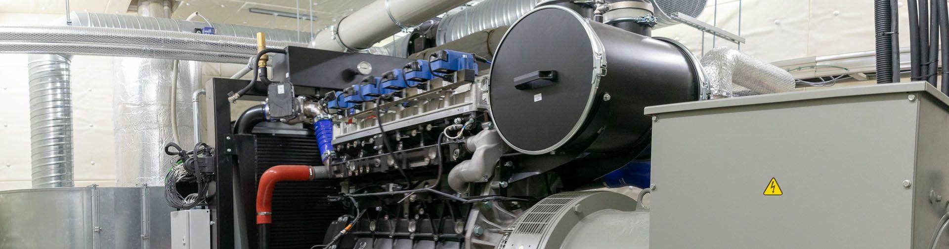 Holzgas-Blockheizkraftwerk BHKW ECO 165 HG