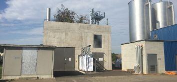 KWK-Anlage in der Schweiz