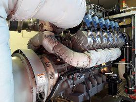 BHKW ECO 340 HG im Prüfstand
