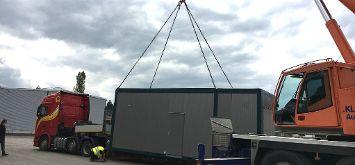 Erste Burkhardt Containeranlage wird ausgeliefert