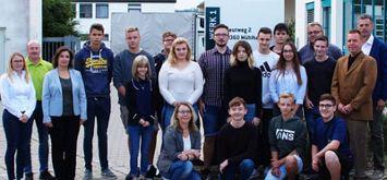 16 neue Auszubildende 2019 bei Burkhardt