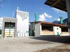 Vierter Burkhardt Holzvergaser für den Biomassehof Achental