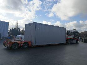 Burkhardt Container geht auf Reisen