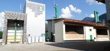 Fourth Burkhardt wood gasifier for the Biomassehof Achental